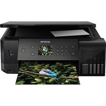 Impressora Multifunções Epson Ecotank ET-7700 - Preto