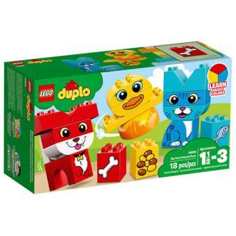 LEGO DUPLO Creative Play 10858 O Meu Primeiro Puzzle com Animais de Estimação