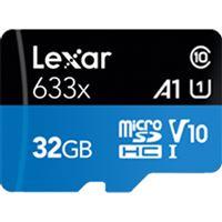 Cartão Memória MicroSDHC Lexar LSDMI32GBBAP633 V30 633x - 32GB