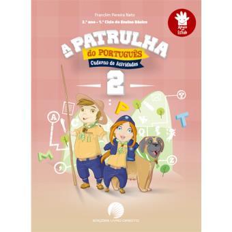 A Patrulha do Português 2 - Caderno de Atividades 2º Ano