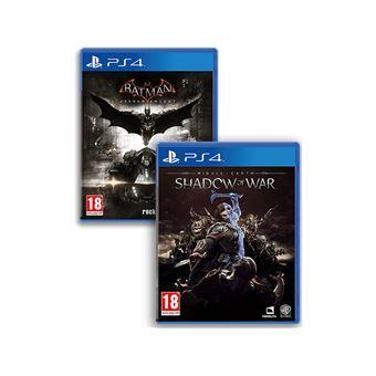 Jogo Batman Arkham Knight + Shadow Of War - PS4