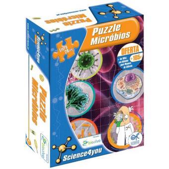 Puzzle Micróbios
