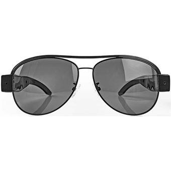 Óculos com Câmara Nedis SPYCGL10BK - Full HD