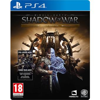 Middle-earth: Shadow of War Gold Edition PS4