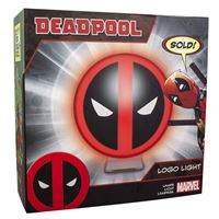Candeeiro Deadpool - Marvel