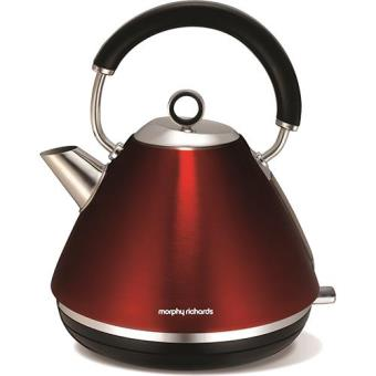 Morphy Richards Chaleira Accents Traditional (Vermelha)