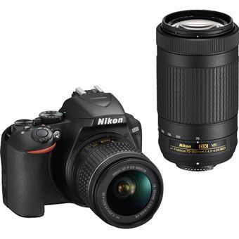 Nikon D3500 + AF-P DX 18-55mm f/3.5-5.6G VR + AF-P DX NIKKOR 70-300mm f/4.5-6.3G ED VR