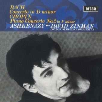 Chopin: Piano Concerto Nº.2 / Bach: Keyboard Concerto in D Minor (LP)