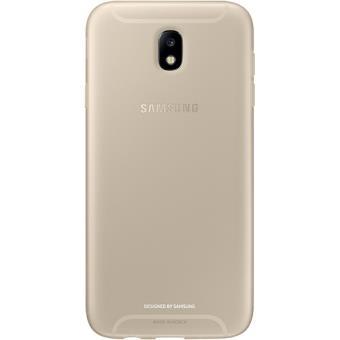 Capa Samsung Jelly para Galaxy J7 2017 - Dourado