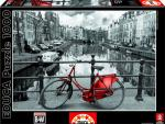 Puzzle Canais de Amesterdão - 1000 Peças