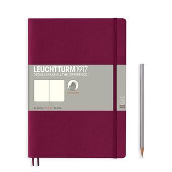 Caderno Liso Leuchtturm B5 - Vermelho