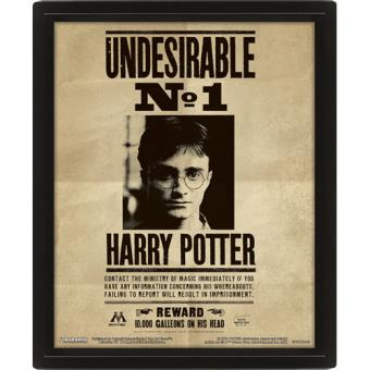Poster 3D Lenticular Harry Potter Sirius