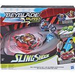 Beyblade Burst SlingShock Rail Rush Battle Set - Hasbro