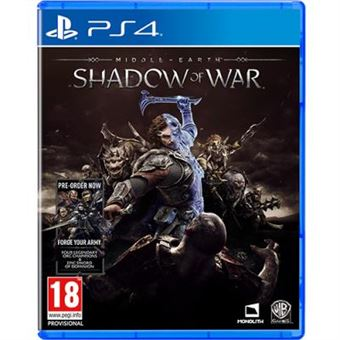 Middle-Earth: Shadow of War + Injustice 2 Legendary Day One Edition - PS4
