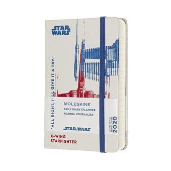 Agenda Diária 12 Meses 2020 Moleskine Bolso: Star Wars