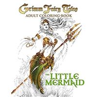 Grimm fairy tales adult coloring bo