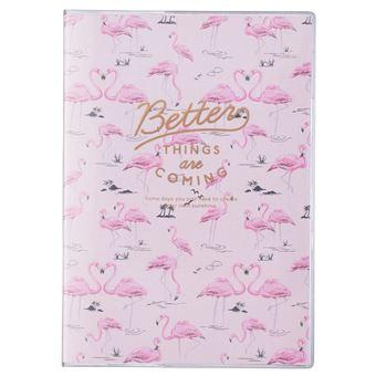 Agenda Diária 12 Meses, 2019-2020 Mark's de Bolso - Better Things Flamingo