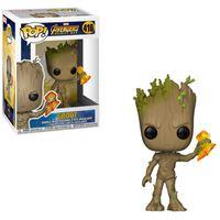 Funko Pop! Avengers Infinity War: Groot with Stormbreaker - 416