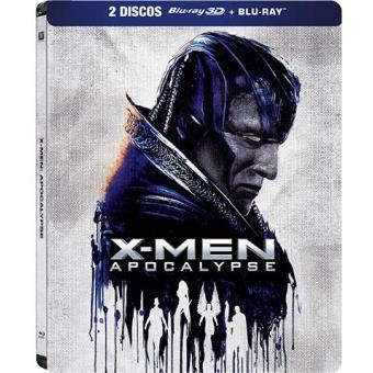 X-Men: Apocalipse (Blu-ray 3D + 2D) - Caixa Metálica