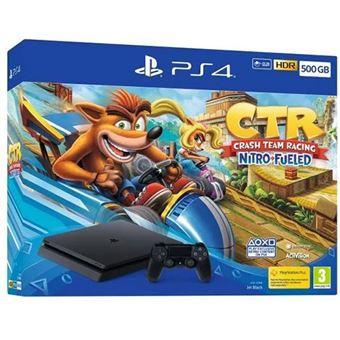 Consola Sony PS4 Slim 500GB + Crash Team Racing