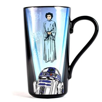 Caneca Termosensível Star Wars: Leia