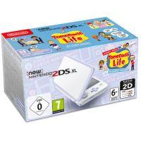 New Nintendo 2DS XL Branco + Lavanda + Tomodachi Life (pré-instalado)
