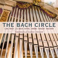 The Bach Circle: Organ Music - CD