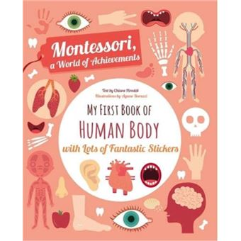 My First Book of the Human Body with Lots of Fantastic Stickers