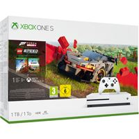 Xbox One S - 1TB - Branco - Forza Horizon 4 LEGO® Speed Champions