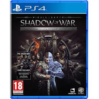 Middle-Earth: Shadow of War Silver Edition + Hitman 2 - PS4