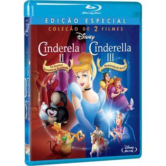 Cinderela 2 e 3 - Coleção 2 Filmes - 2Blu-ray