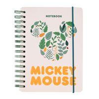 Caderno Pontilhado Erik Bullet Espiral - Mickey Mouse A5