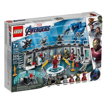 LEGO Marvel Avengers Movie 4 76125 O Salão das Armaduras de Iron Man