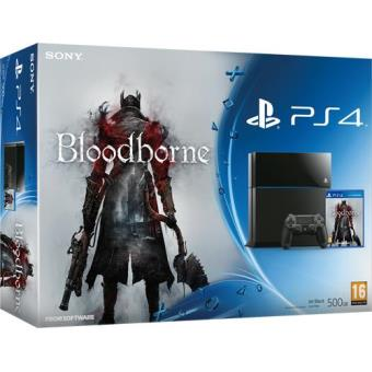 Consola Sony PS4 500GB + Bloodborne