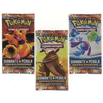 Pokémon - Diamante e Pérola Blister com 3 Boosters