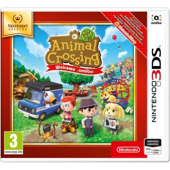 Animal Crossing New Leaf Welcome Amiibo - Nintendo Selects 3DS