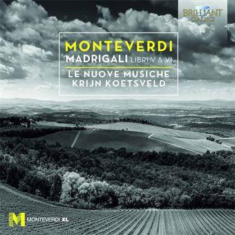 Monteverdi: Madrigali Libri V & VI - CD