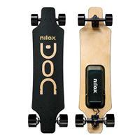 Skate Elétrico Nilox Doc Longboard - Preto