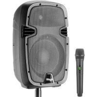 "Coluna Bi-Amplificada 10"" 60W com Microfone Wireless RIOTBOX10U"