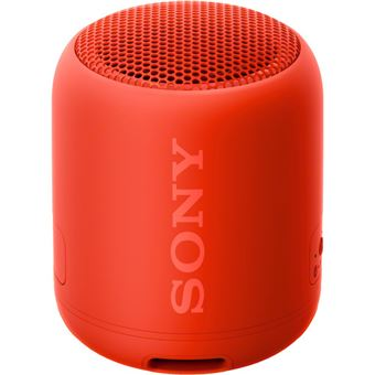 Coluna Bluetooth Sony SRS-XB12 - Vermelho