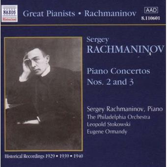 Great Pianists - Rachmaninov: Piano Concertos 2&3