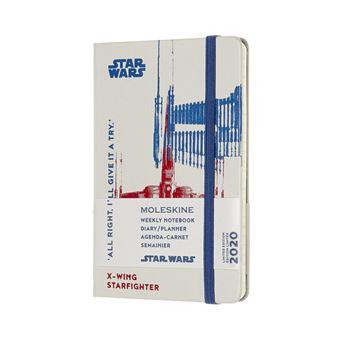 Agenda Semanal 12 Meses 2020 Moleskine Bolso: Star Wars