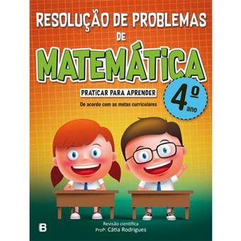 Resolucao De Problemas De Matematica 4º Ano Varios Rodrigues Catia Compra Livros Na Fnac Pt