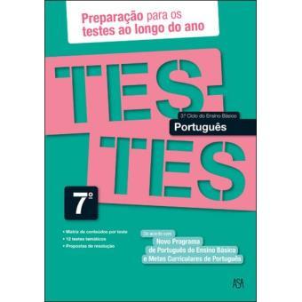 Testes de Língua Portuguesa - 7º Ano
