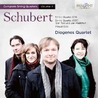 Schubert-string quartets n. 14/6