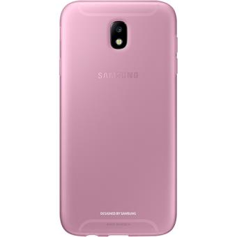 capa samsung jelly para galaxy j7 2017 rosa bolsa telem vel compra na. Black Bedroom Furniture Sets. Home Design Ideas