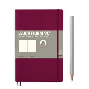Caderno Liso Leuchtturm B6 - Vermelho