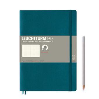 Caderno Pontilhado Leuchtturm B5 - Verde Pacífico