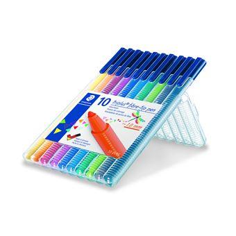 Canetas de Feltro Staedtler Triplus Color - 10 Unidades