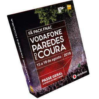 Fã Pack Fnac Vodafone Paredes de Coura 2018 - T-Shirt L